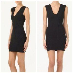 ARITZIA TALULA Black Stretch Bodycon Dress